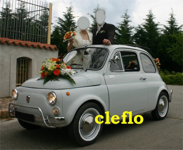location de ma fiat 500 pour des mariages autour de toulouse ancienne fiat 500 de cl flo. Black Bedroom Furniture Sets. Home Design Ideas