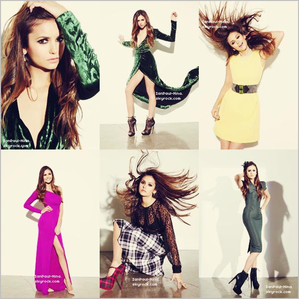.  D�couvrez de nouvelles photos de Nina pour Ocean Divre Magazine..