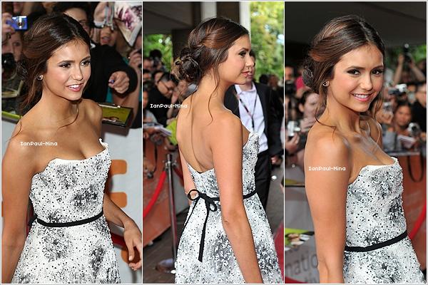 . 07/09 : Nina a �t� aper�u arrivant � l'a�roport de Toronto au Canada..