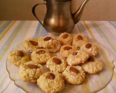 macarons aux amandes petits fours