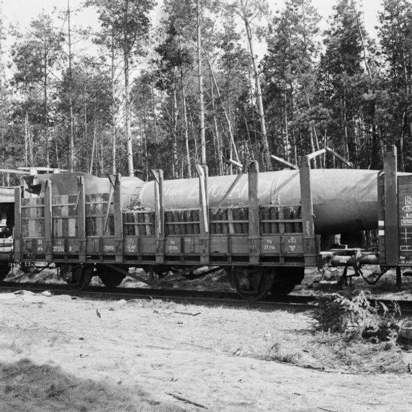 Fus�e V2 A4 Transport ferroviaire et tire