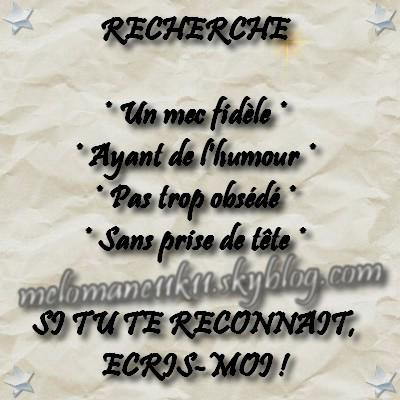Demoiselle recherche un mec mortel paroles