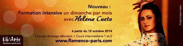 Helena Cueto - stage mensuel � Paris
