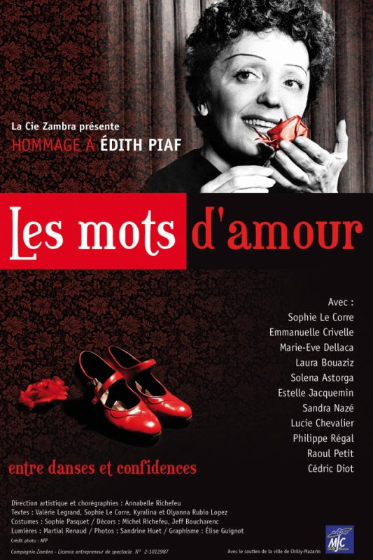 Les Mots d'Amour, 11-12 Avril 2015