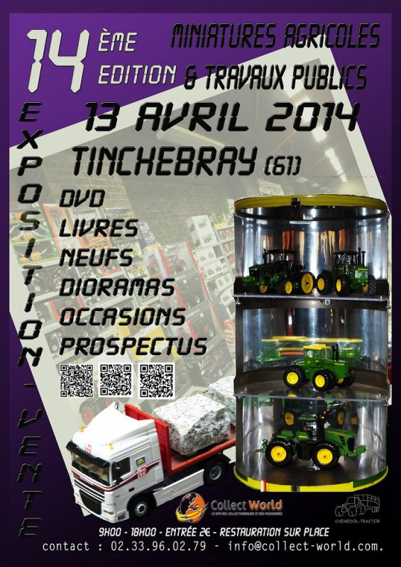 Exposition TINCHEBRAY 13 Avril 2014 !