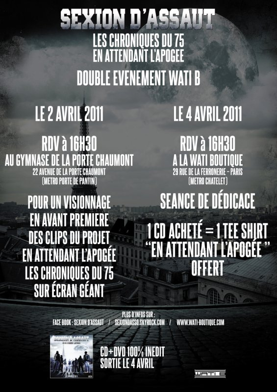 DOUBLE EVENEMENT