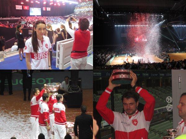 Davis Cup Final: France - Suisse