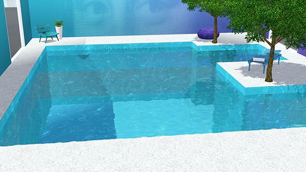 D�couvrez la piscine et un myst�rieux couloir!