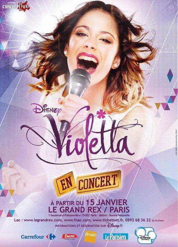 Violetta en concert,on n'y croirait pas !!!<3<3<3