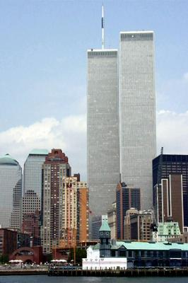 Les tours jumelles du world trade center twins towers for Plus haute tour new york