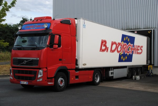 Transport Dorchies. Volvo FH540. Orl�ans. Ao�t 2016