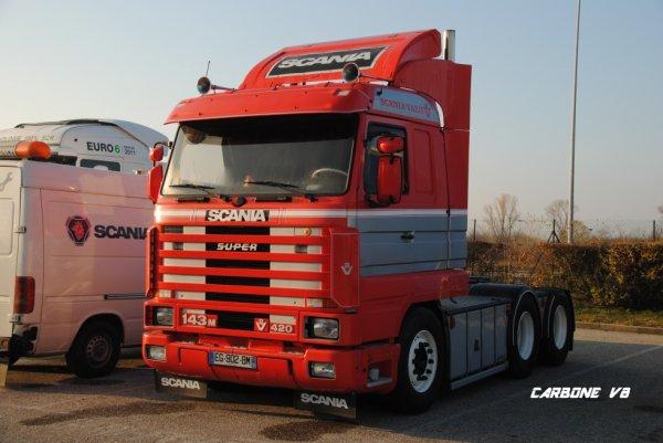 Transport AURENICO. Scania Valence.