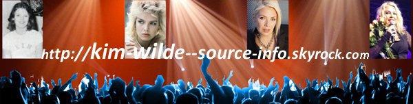 Arret du blog: Kim Wilde source d'info