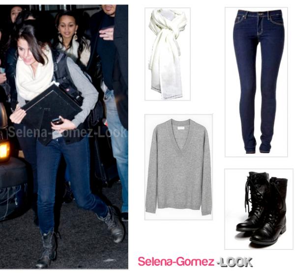 .                       Selena : Look Basic .