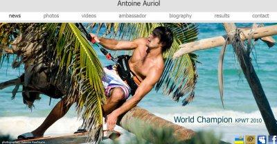 NOTRE AMI ANTOINE AURIOL CHAMPION DU MONDE KPWT 2010