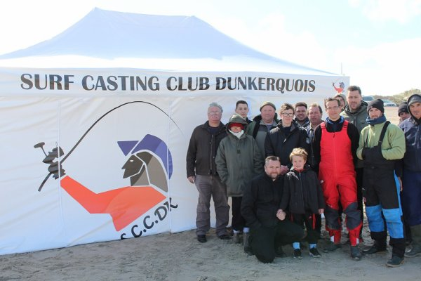Session loisirs Surc Casting Club Dunkerquois SCCDK (23-04-2016) - Leffrinckoucke