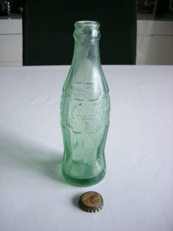 BOUTEILLE COCA COLA dat�e 1945