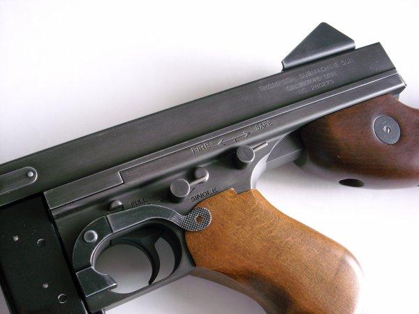 Thompson M1A1 airsoft fullllll metal et bois