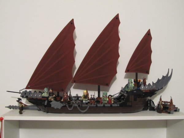 le bateau des pirates d 39 umbar lego le royaume de redgo. Black Bedroom Furniture Sets. Home Design Ideas
