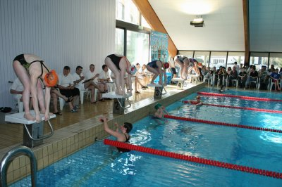 les championnats du hainaut de natation bernissart 1
