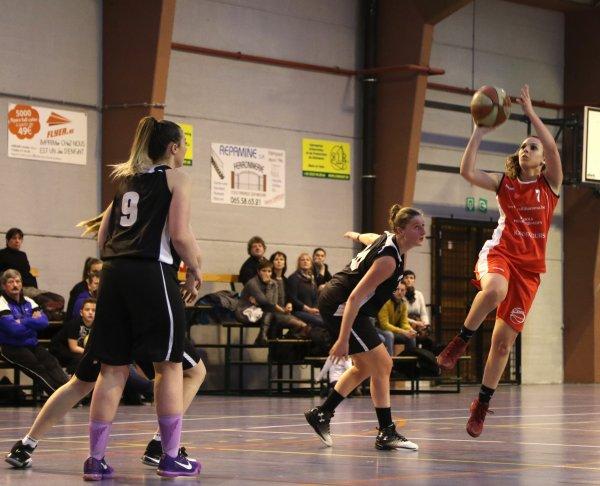 Basket : P1 Dames : BC Mons Capitale B – TEF Kain B 54-45