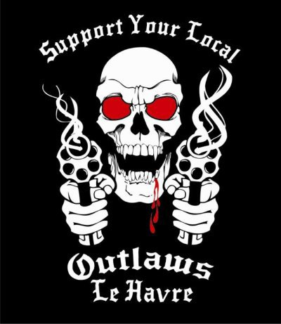 OUTLAWS MC LE HAVRE FRANCE