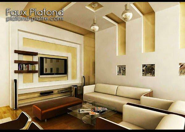 Nouvelle d coration faux plafond moderne faux plafond - Decoration plafond moderne ...