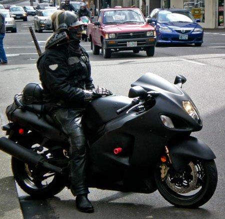 samourai biker