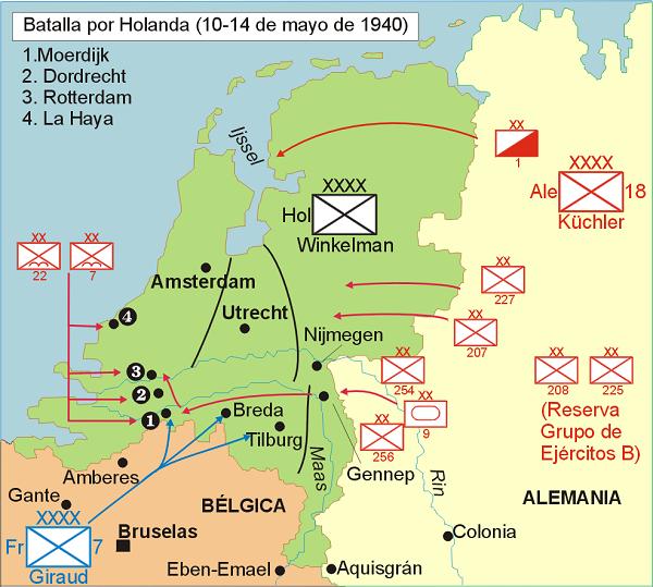 """1) Chapitre 5 Le Plan jaune """" Fall Gelb """" Hitler déclanche la Blitzkrieg à l'ouest le vendredi 10 mai 1940 """" l'invincible Wehrmacht déferle à l'ouest """" l'invasion des Pays-Bas du 10 au 14 mai 1940."""