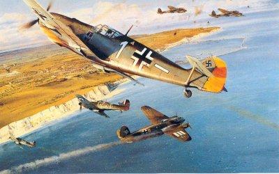Chapitre 9 : La bataille d'Angleterre , les jeunes Loups de la R.A.F face aux Aigles de la Luftwaffe