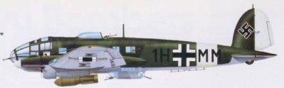 8- Le Heinkel He 111.