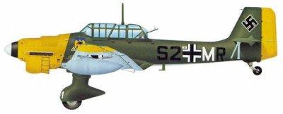 11- Le Junkers Ju 87 Stuka .