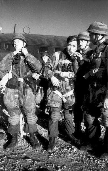 1- Les Fallschirmjäger et la Seconde Guerre mondiale .