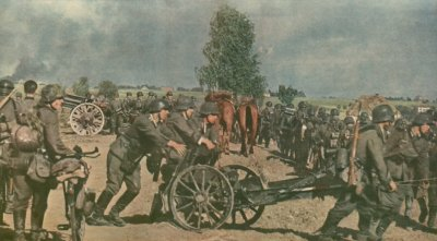 22 - La bataille de Smolensk : du 10 juillet 1941 au 10 septembre 1941, coup d'arrêt à l'Est . Ordre de bataille Allemand.