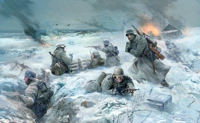 51 / 3 - L'Armée Rouge contre - attaque devant Moscou, vendredi 5 décembre 1941, la Blitzkrieg à la Russe . 1 : La bataille de retardement de la boucle de Klin.