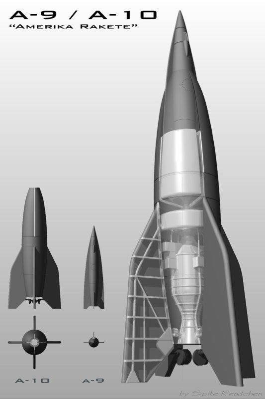 130 / 3 - Les Wunderwaffen :  Du Missile Balistique à l'Arme Nucléaire ( Suite et Fin ).
