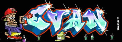 Tag graffiti pr nom evan florent lily marwann - Tag prenom gratuit ...