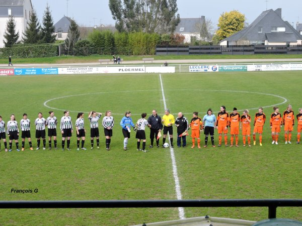 Match DH f�minine Ploermel - FCELLE  0-4