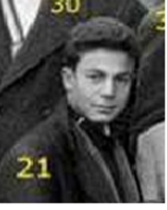 Hanifi Kaddour figure sur une photo de classe Coll�ge Leclerc (Lyc�e El Haoues) Sidi Bel Abbes.