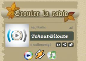 Viens m'écouter sur Ago'radio !