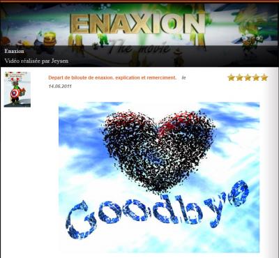 Un abus de plus / Good Bye enaxion !