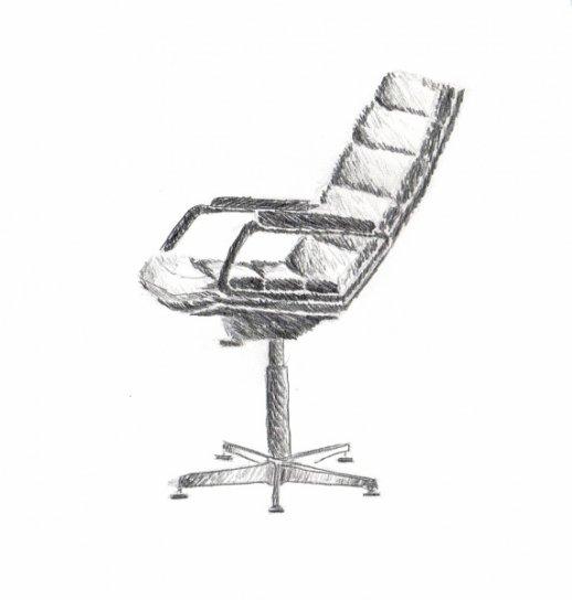chaise de bureau blog de dessin 19 20. Black Bedroom Furniture Sets. Home Design Ideas