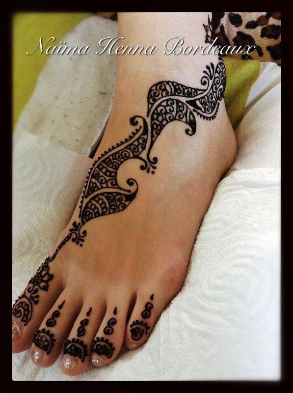 henna sur le pied blog de tatouagehennebordeaux. Black Bedroom Furniture Sets. Home Design Ideas