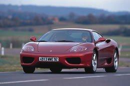 Essai de la Ferrari 360 Modena F1 du 14 d�cembre 1999