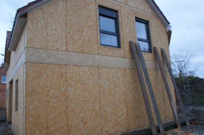Samedi 10 d cembre r alisation plancher grenier bandeau for Osb exterieur pluie