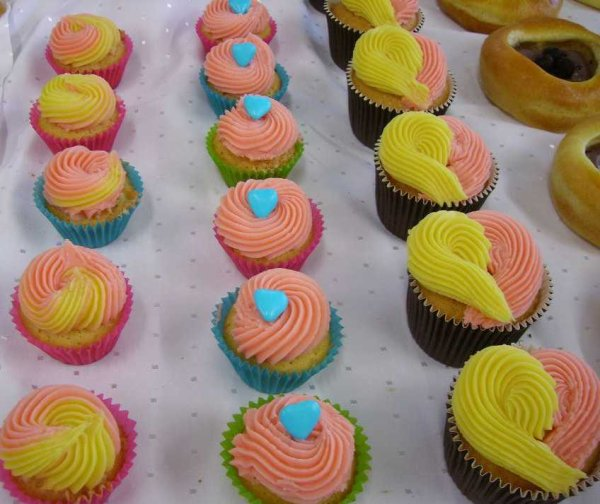 Petits cup cakes ....