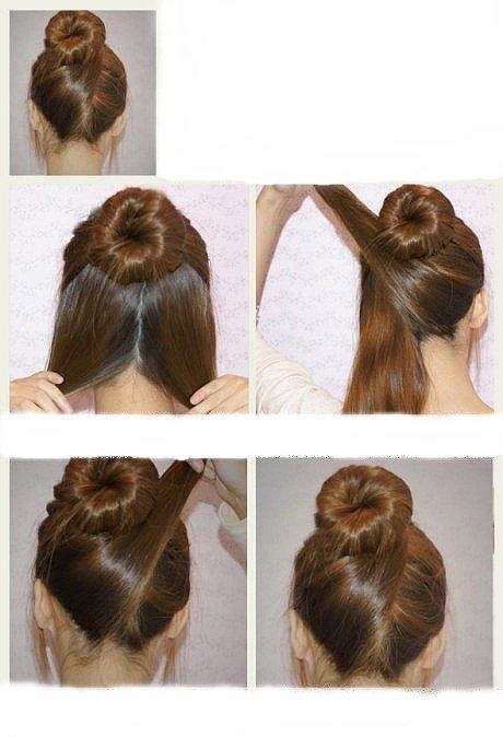 coiffure femme rapide