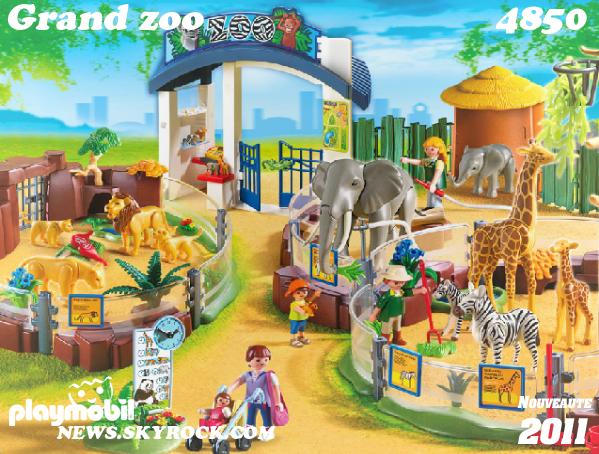 4850 grand zoo playmobil news toutes les nouveaut s. Black Bedroom Furniture Sets. Home Design Ideas