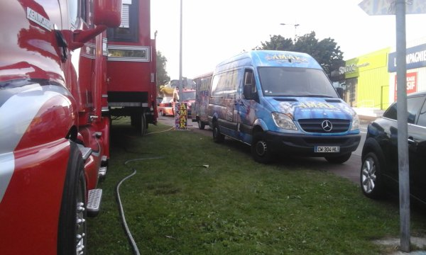 cirque amar a Cherbourg en ao�t du 30 ao�t au 4 septembre 2016