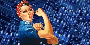 Woman Tech Boss